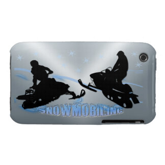 Snowmobiling - Snowmobilers Case-Mate Case iPhone 3 Cover