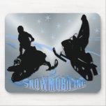 Snowmobiling - Snowmobilers Mousepad
