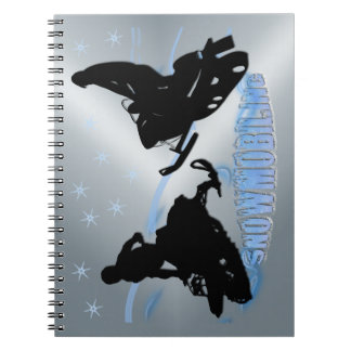 Snowmobiling - Snowmobilers Notebook