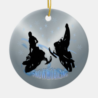 Snowmobiling - Snowmobilers Ornament