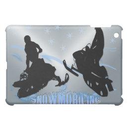 Snowmobiling - Snowrs  iPad Mini Covers