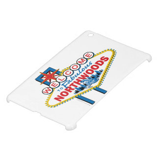Snowmobiling/Welcome to the Fabulous Northwoods iPad Mini Case