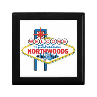 Snowmobiling/Welcome to the Fabulous Northwoods Jewelry Box