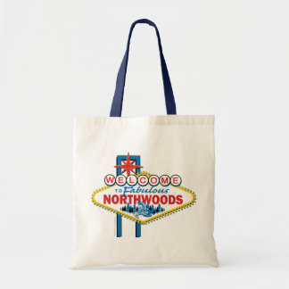 Snowmobiling/Welcome to the Northwoods Tote Bag