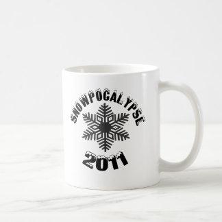 SNOWPOCALYPSE 2011 COFFEE MUG