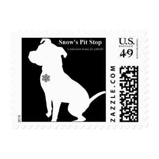 Snow's Pit Stop Stamps