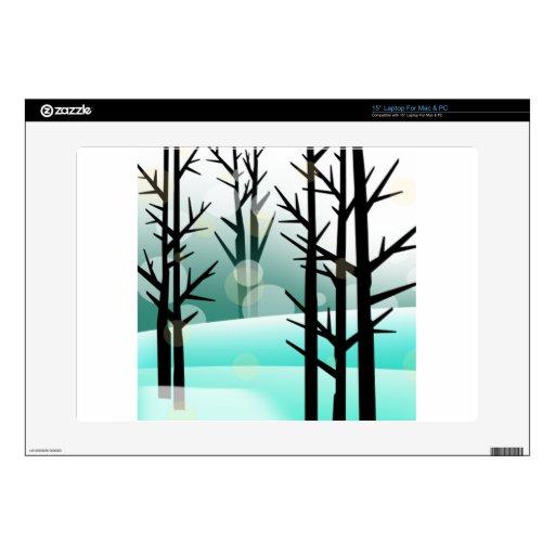 """Snowscape 15"""" Laptop Decals"""