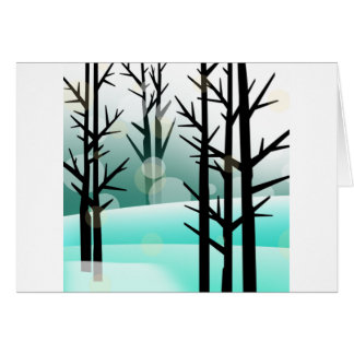Snowscape Card