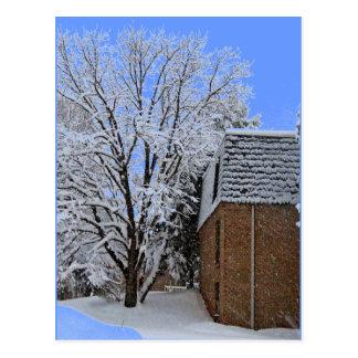 Snowscapes of NJ Postcard