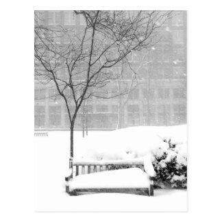 Snowscene III, Philadelphia Postal
