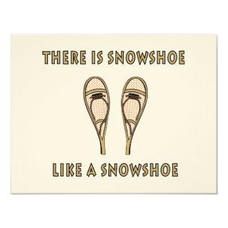 Snowshoe Card
