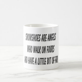 Snowshoe cat quote by Lou Coffee Mugs