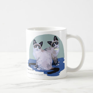 Snowshoe Cats Mugs