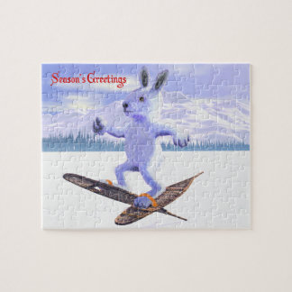 Snowshoe Hare Jigsaw Puzzle