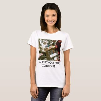 Snowshoe I'm cuckoo for coupons kitty T-Shirt