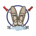 Snowshoe Logo Embroidered Track Jacket