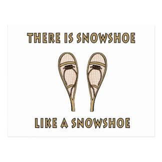 Snowshoe Postcard