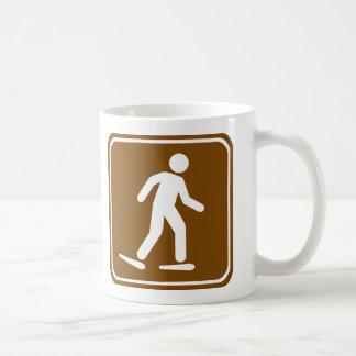 Snowshoe Trail Highway Sign Coffee Mug