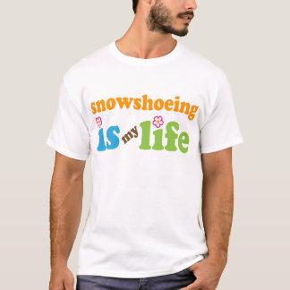 Snowshoer Gift Girls T-Shirt