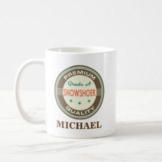 Snowshoer Personalized Office Mug Gift