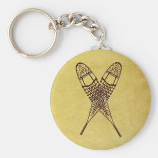 Snowshoes Keychain
