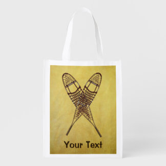 Snowshoes Grocery Bags