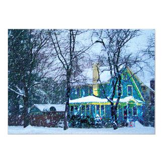 Snowstorm Card