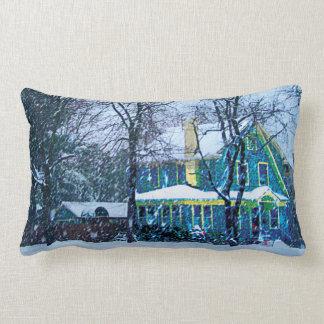 Snowstorm Lumbar Pillow