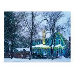 Snowstorm Post Card