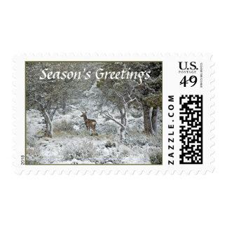 Snowstorm Postage