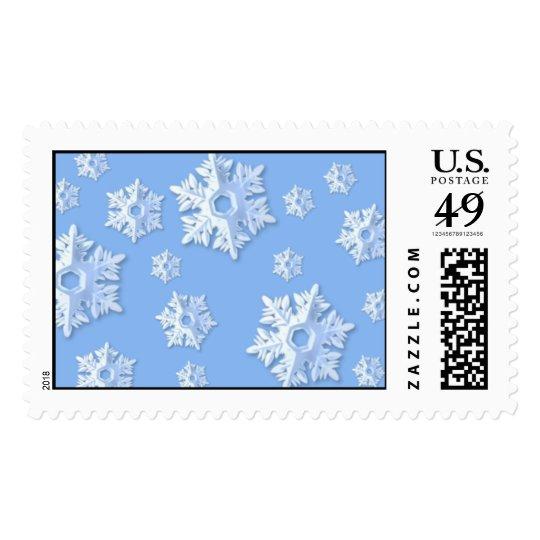 Snowstorm stamp