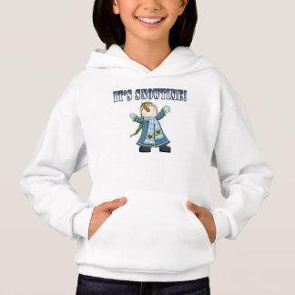 Snowtime Snowman Kid's Sweatshirt