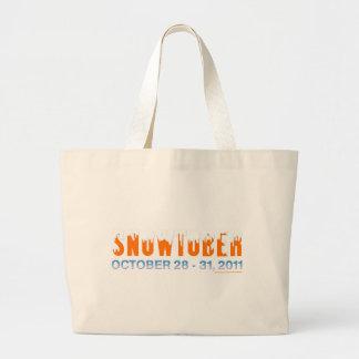 Snowtober 2011 tote bag