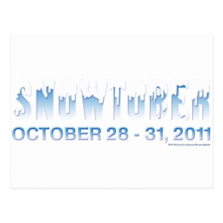 Snowtober 2011 postcard