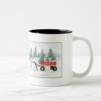 Snowy Adventures Coffee Mugs