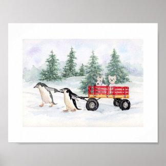 Snowy Adventures Print