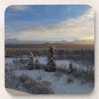 Snowy Afternoon Beverage Coaster