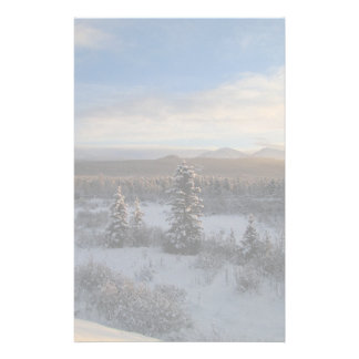 Snowy Afternoon Stationery