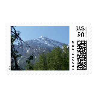 Snowy AK Mountain Postage Stamps (M)