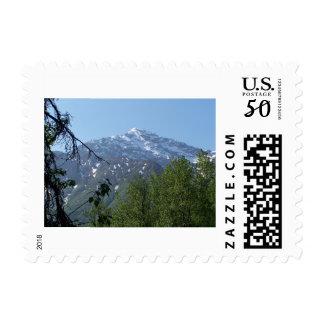 Snowy AK Mountain Postage Stamps (S)