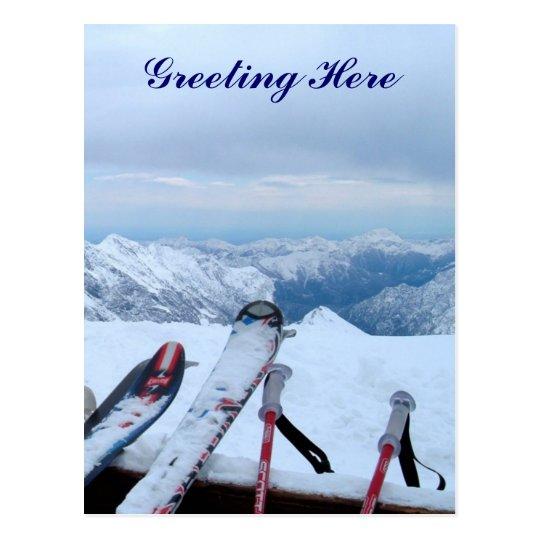 Snowy Alps Post Card