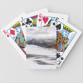 Snowy Andes Mountains Bicycle Playing Cards