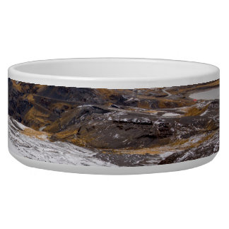 Snowy Andes Mountains Bowl