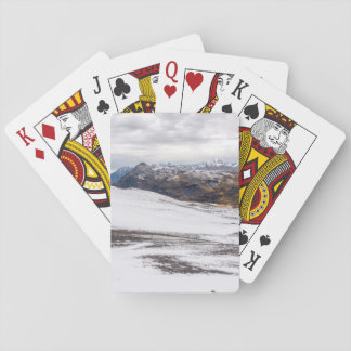 Snowy Andes Mountains Deck Of Cards