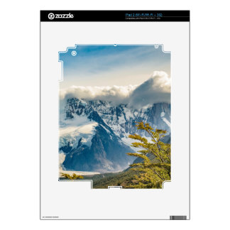Snowy Andes Mountains, El Chalten Argentina iPad 2 Decal
