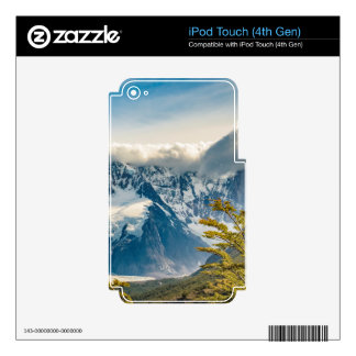 Snowy Andes Mountains, El Chalten Argentina iPod Touch 4G Skin