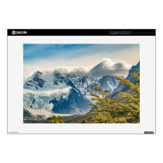 Snowy Andes Mountains, El Chalten Argentina Laptop Skins