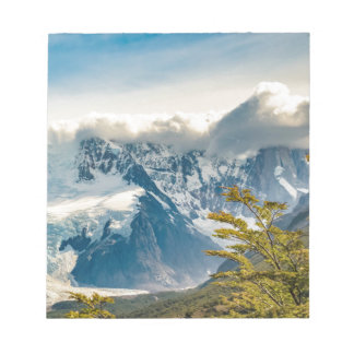 Snowy Andes Mountains, El Chalten Argentina Notepad