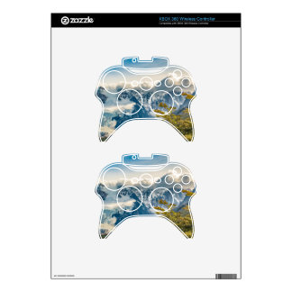 Snowy Andes Mountains, El Chalten Argentina Xbox 360 Controller Decal