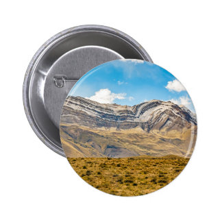 Snowy Andes Mountains Patagonia Argentina Button